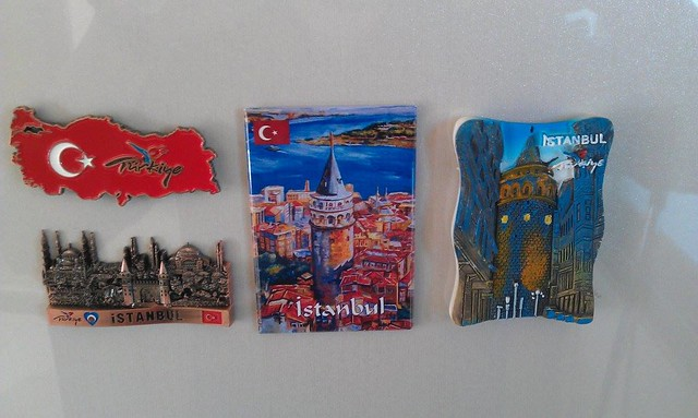 磁鐵 留念這個有趣的城市和國度