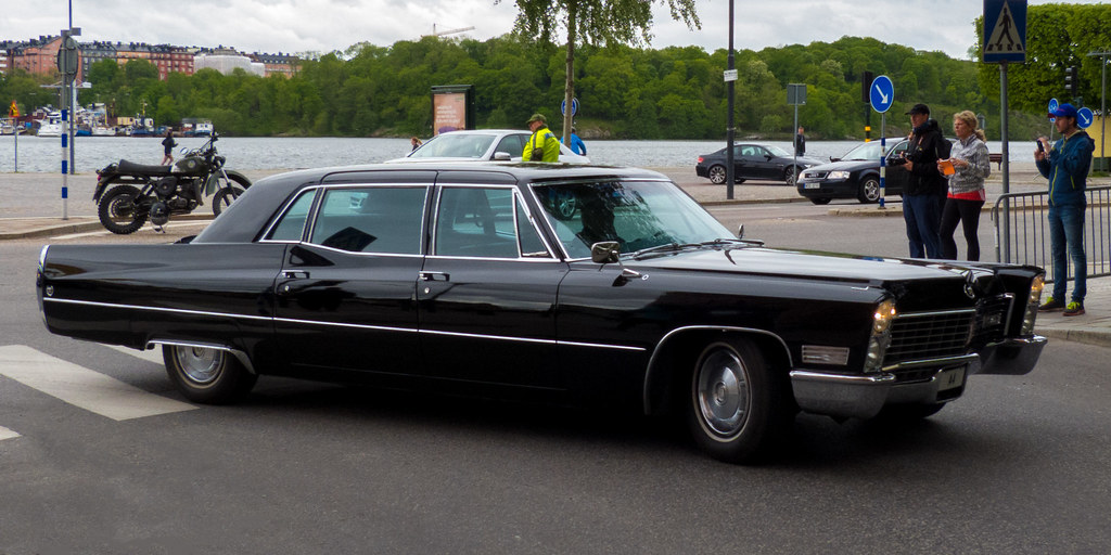 Hagerty Price Guide >> Sweden's King Carl XVI Gustaf 1967 Cadillac Fleetwood 4-do… | Flickr