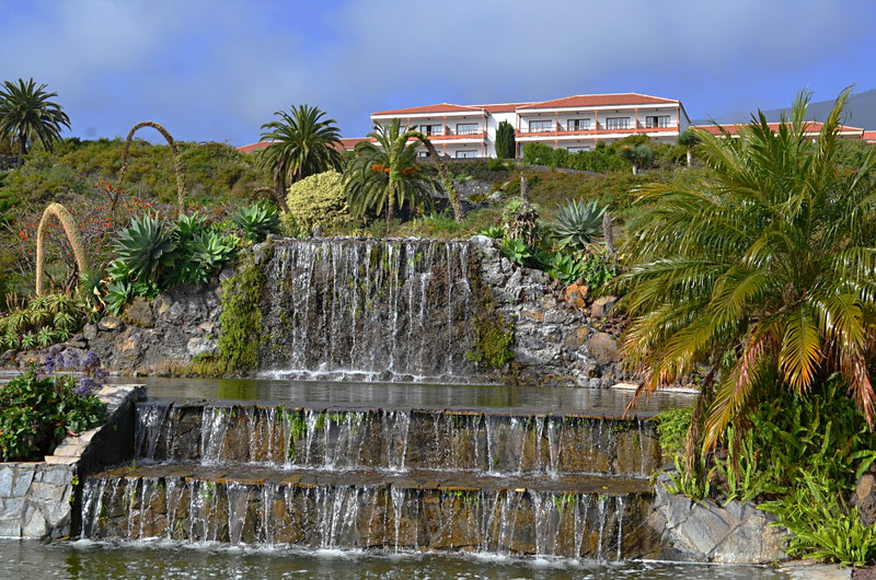 Parador gardens, La Palma, Canary Islands