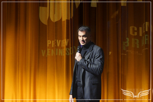 The Establishing Shot JOHN WICK 2  CHAD STAHELSKI TALKS JOHN WICK AT THE UK GALA SCREENING - London, Vue Leicester Square