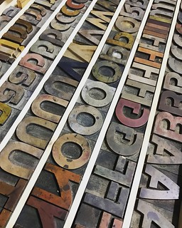 Flower City Arts Center #woodtype | by valatal