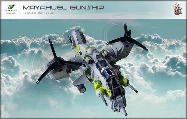 Mayahuel Gunship - DA2 - Flying high