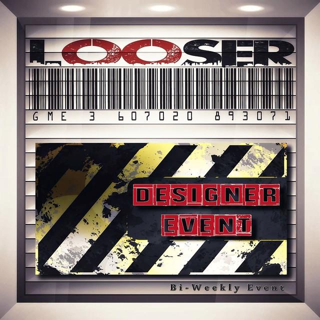 __ LOOSER DESIGNER EVENT LOGO __