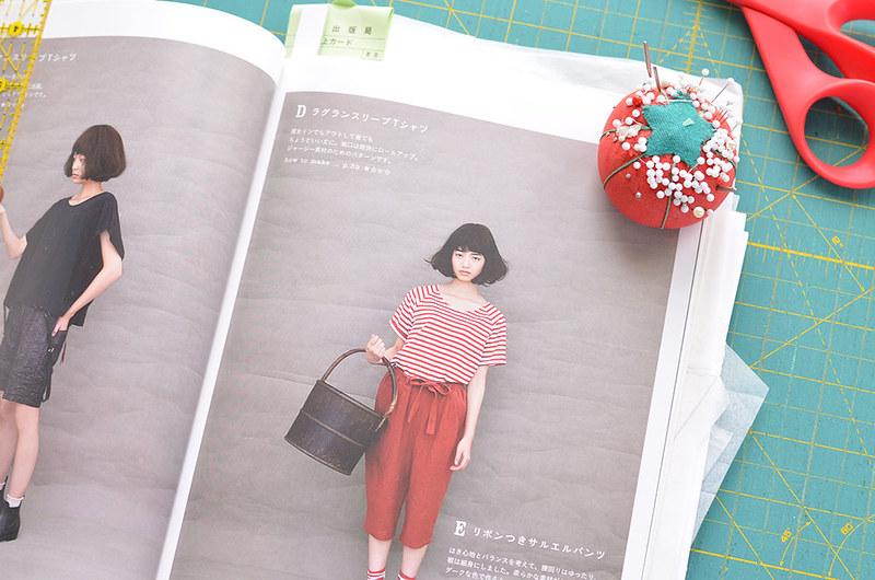 Simple Wardrobe Japanese Pattern Sewing Book D