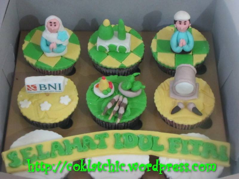 Cupcake lebaran