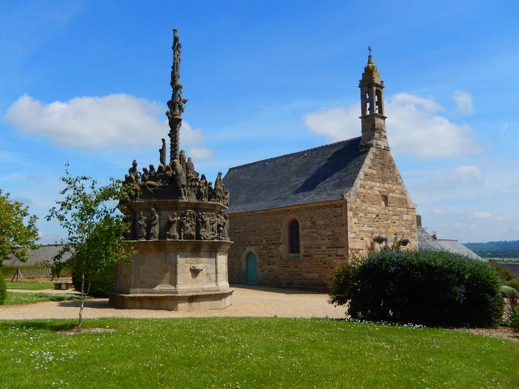 Calvaire et chapelle de l 39 enclos paroissial de plougonven for Photos de photos