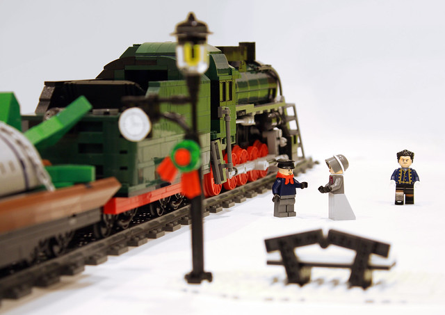 Xmas Steam Train