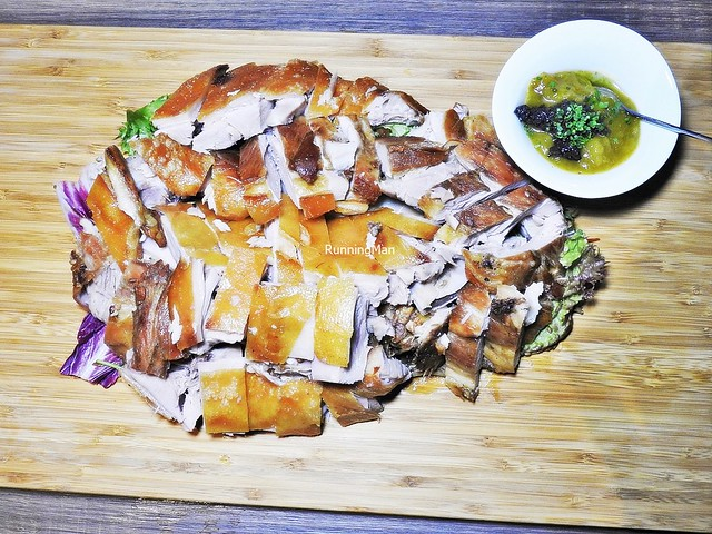 Roasted Zaragoza Pork Shoulder - Carved