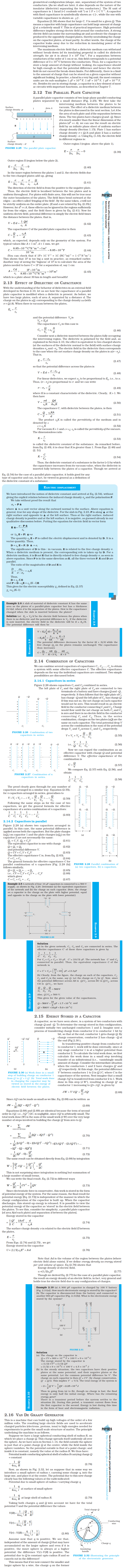 NCERT Class XII Physics Chapter 2 - Electrostatic Potential and Capacitance
