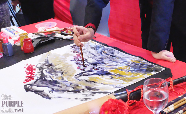 Dr Alex Chan Lim Chinese Painting Demo
