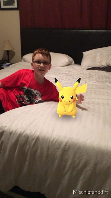 My name is Lex and this is my pal Pikachu