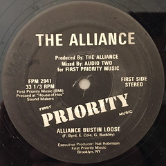 THE ALLIANCE:ALLIANCE BUSTIN LOOSE(LABEL SIDE-A)