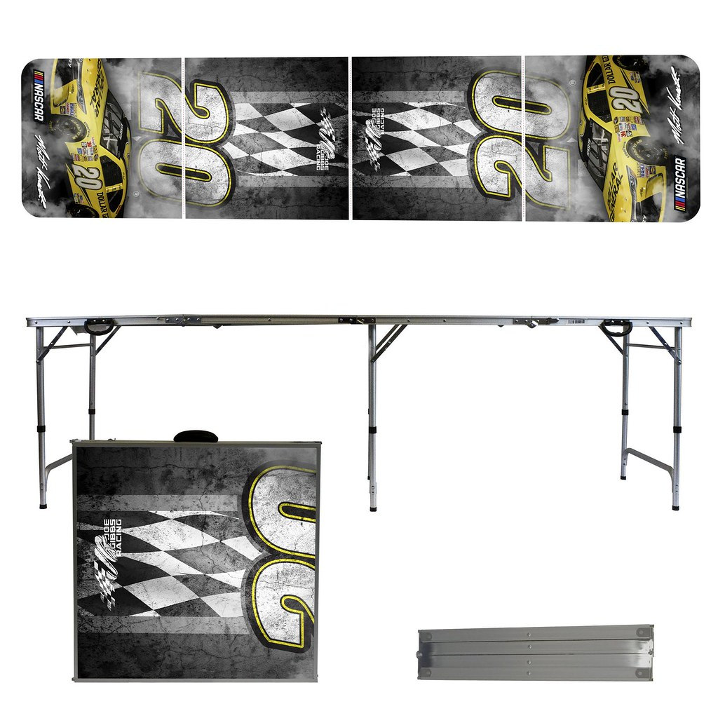 MATT KENSETH #20 Tailgating, Camping & Pong Table