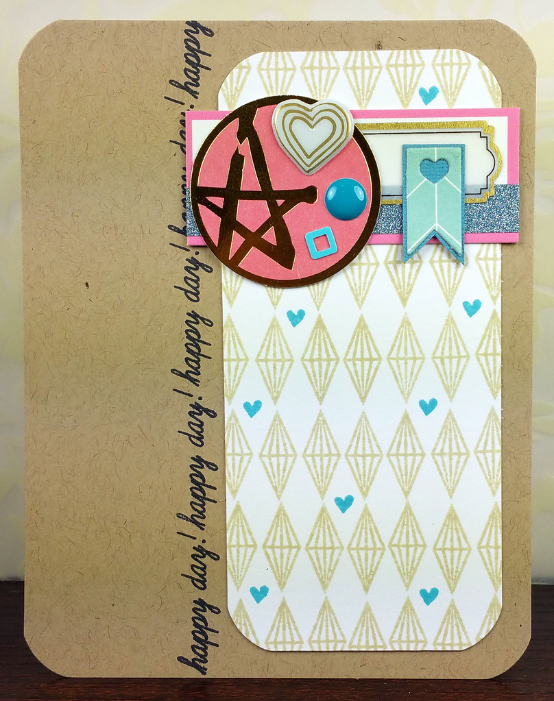 Retro Sketches 166 Pinkfresh Studio Happy Day Card | shirley shirley bo birley Blog