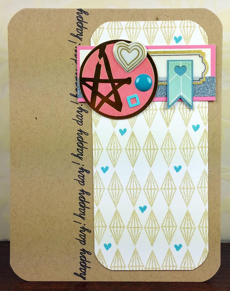 Retro Sketches 166 Pinkfresh Studio Happy Day Card | shirley shirley bo birley Blog
