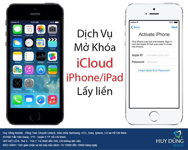 """Nhờ cách gì để """"cứu"""" iPhone, iPad bị lock iCloud ở tại TP.HCM"""