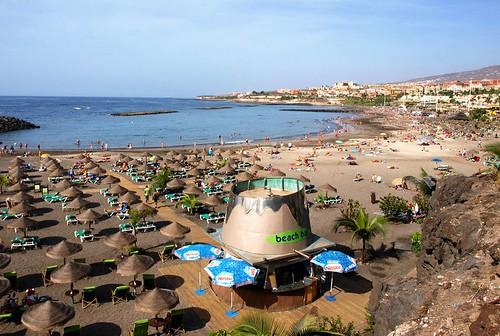Playa Torviscas. Tenerife. Spain