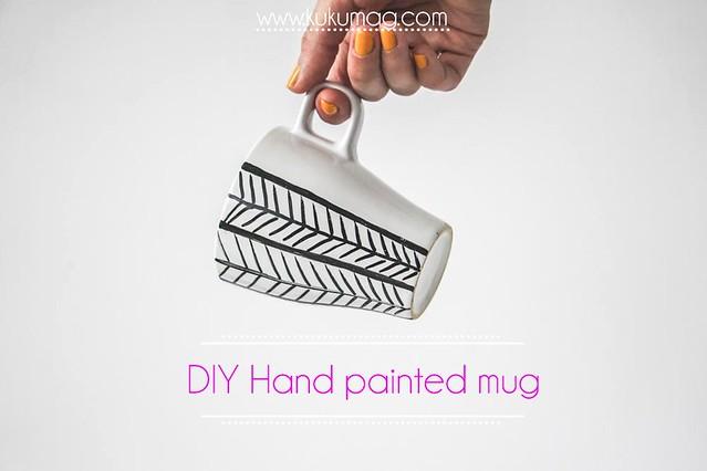diy painted mug