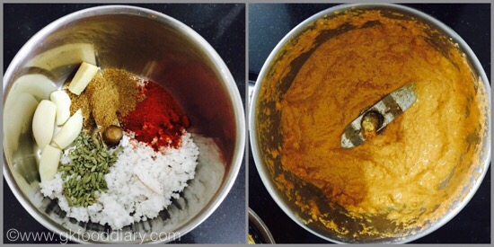 Drumstick Masala - preparation step 1
