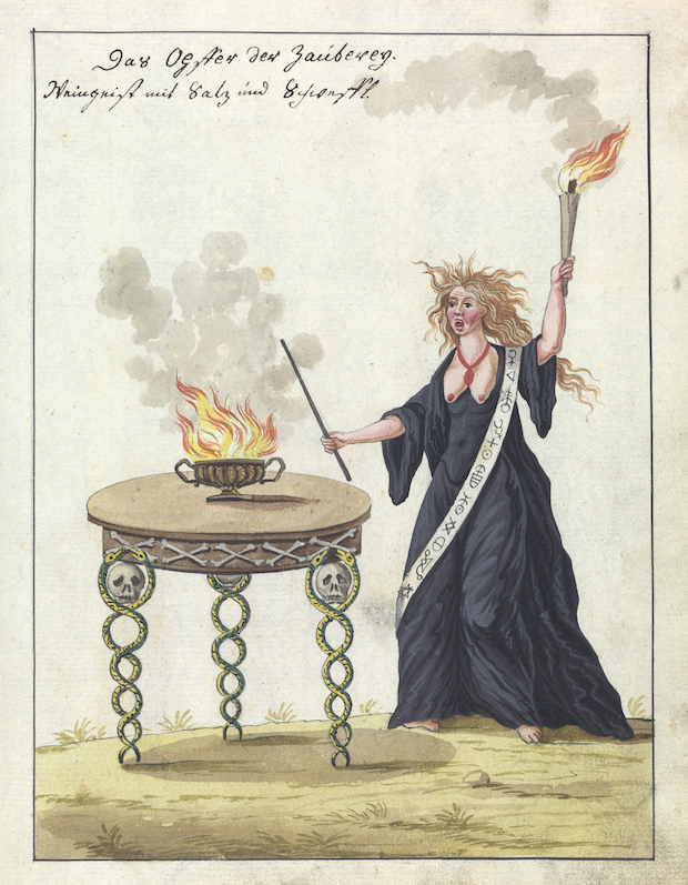 L0076364 A compendium about demons and magic. MS 1766.