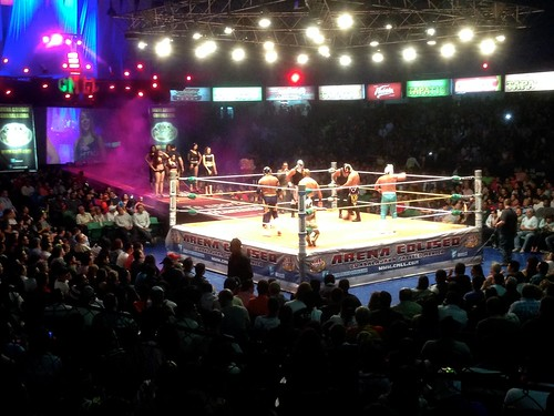 Into the Ring at Lucha Libre | by cogdogblog