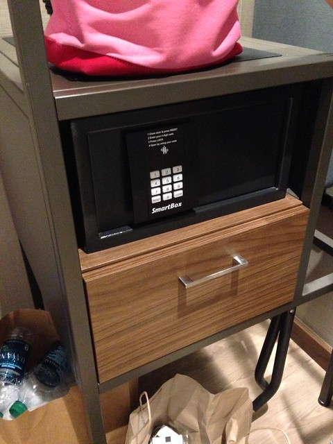 The only drawer in the room. AC Hotel by Marriott, New Orleans