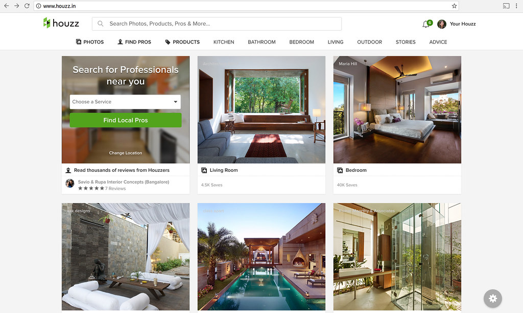 there are two main criteria we look at when evaluating new markets for houzz one is strong local demand for the houzz offering and the second is demand