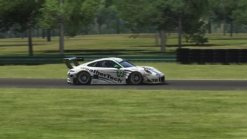 Porsche 911 GT3 R - Weathertech Alex Job Racing - MacNeil Keen - IMSA 2016 (2)