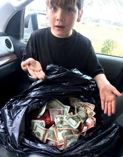 Griffin Steele cash find
