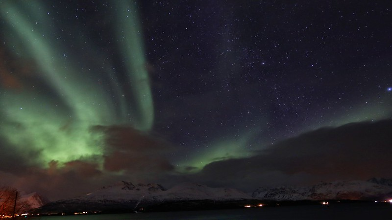 Northern lights tour Tromso Norway