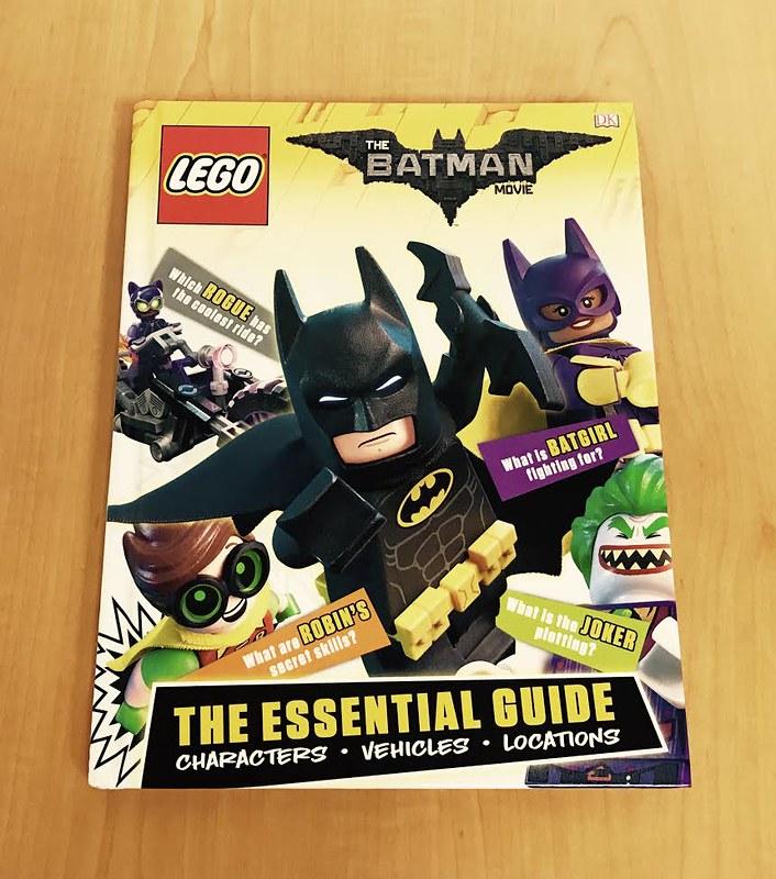 LEGO Batman Movie Books - Essential Guide
