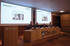 """23/02/2017 - Conferencia DeustoForum. Rafael Aguirre y Salvador Pié-Ninot: """"Desafíos para la Teología: leer la Biblia en el siglo XXI"""""""