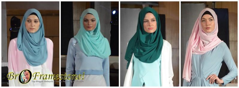Koleksi Hijab Eksklusif Raya 2015 - Naelofar For Zalora