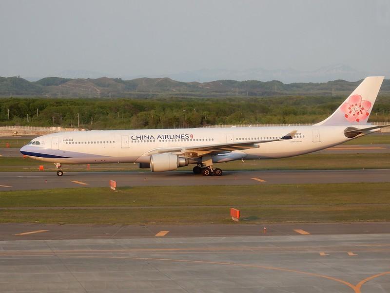 チャイナエアライン A330-300 B-18309 / CTS