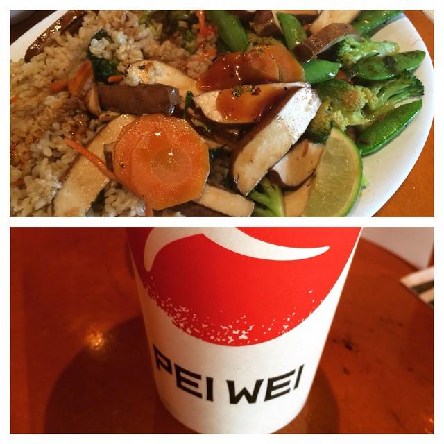 Pei Wei #cheatmeal #weightoss