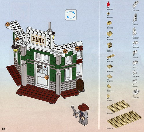 LEGO The Lone Ranger 79109 Colby City Showdown ins04