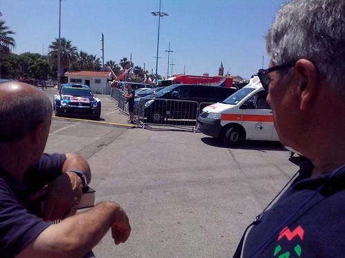 L'assistenza al WRC