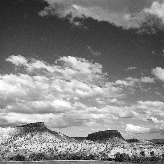 Abiquiu, New Mexico. June 10, 2015.