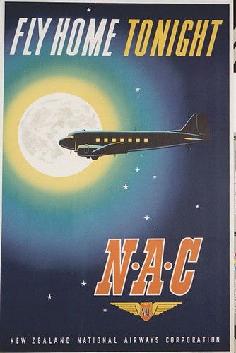 NAC Fly Home Tonight Poster | by San Diego Air & Space Museum Archives