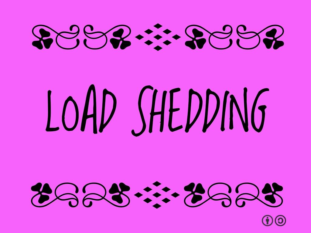 Loadshedding Wikipedia: Buzzword Bingo: Load Shedding