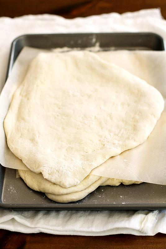 No-Knead Grilled Naan | girlversusdough.com @girlversusdough