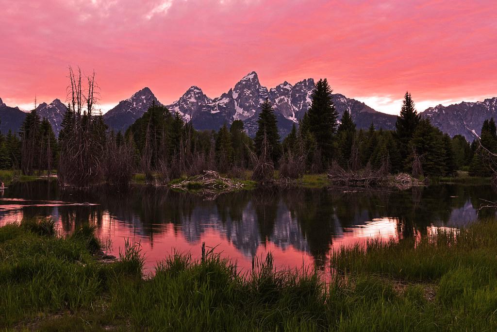 tetons sunset 6917