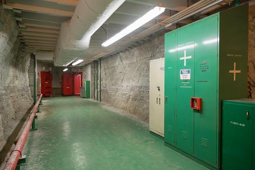 Underground Passageway, Rock Walls