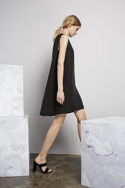Catherine Quin black dress