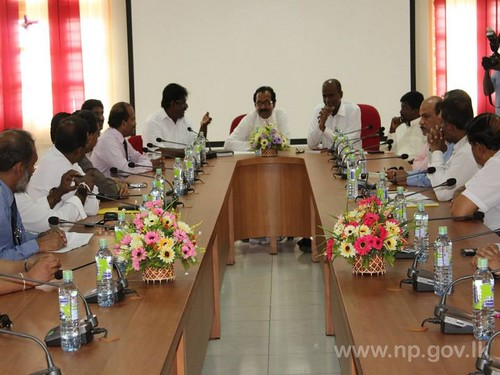 Sri Lankan Diplomats meet Northern Provincial Council Ministers