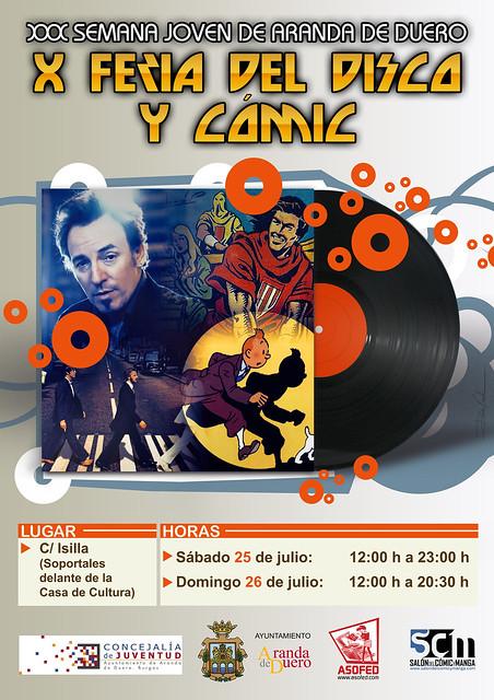 X Feria del Disco y del Cómic de Aranda