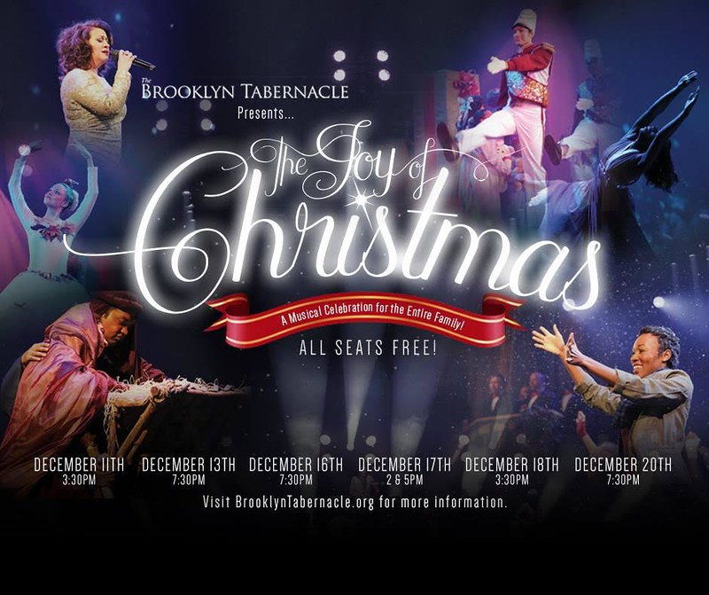 special christmas schedule - Brooklyn Tabernacle Christmas Show