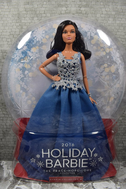 2016 Holiday Barbie The Peace Hope Love Collection Claudette DGX99 (2)
