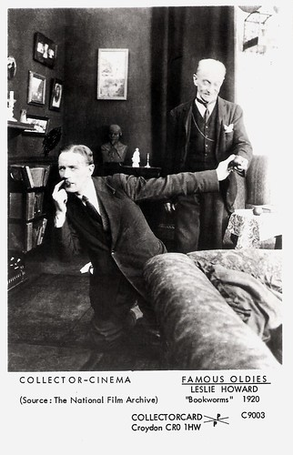 Leslie Howard in Bookworms (1920)