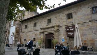 Exterior del Hotel Convento San Roque.